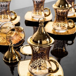 Arabic  Tea Cups Set For Six People