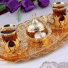 Arabic  Tea Cups Set For Six People