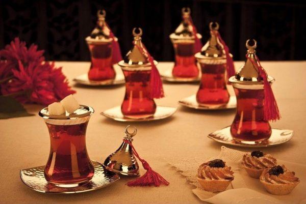 Vintage Tea Cups Turkish Style