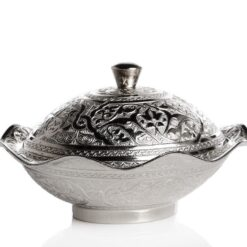 Silver Plated  Decorative Snack , Serving Bowl