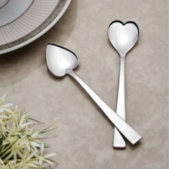 Stainless Steel Nehir Can Canan Coffee Spoons 12 Pcs