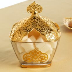 Vintage  Sugar Bowl Gold Colour