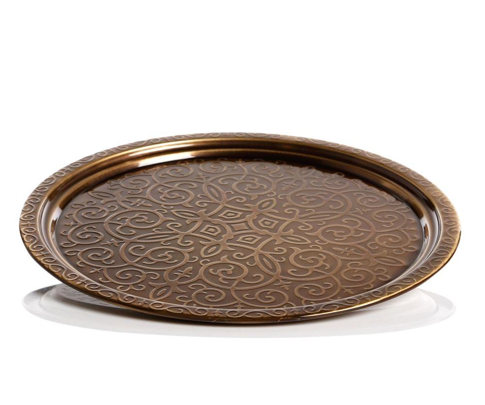 Authentic Decorative Ottoman Serving Tray 35 Cm Fairturk Com