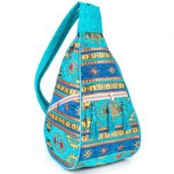 Handmade Carpet Hippie Bag