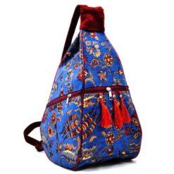 Blue Handmade Hippie Bag