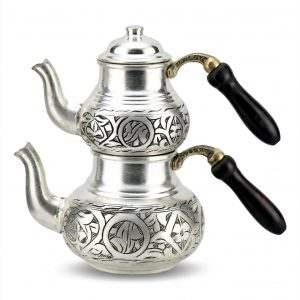 Handmade Antique Design Copper Turkish Tea Pot