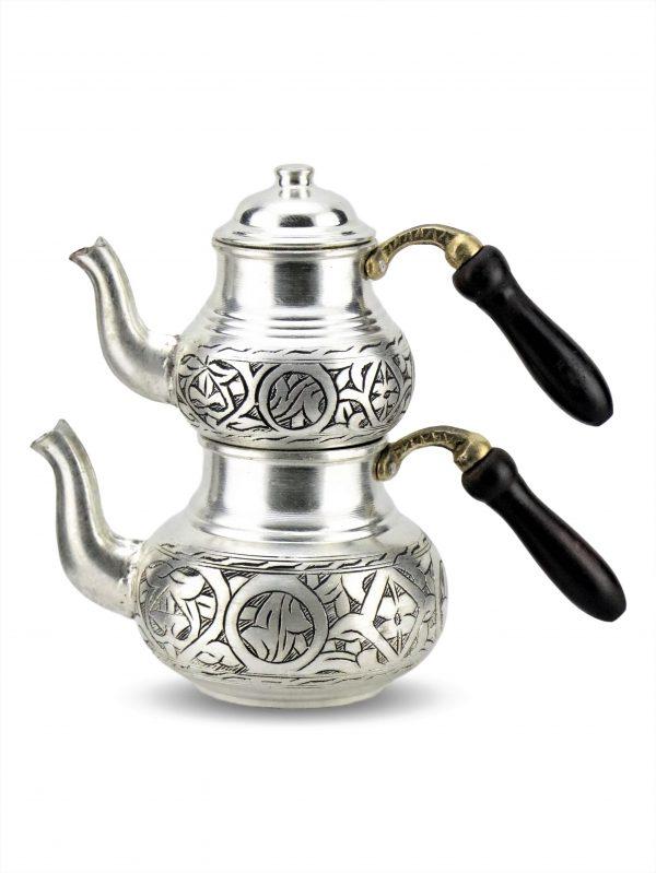 Handmade Antique Design Copper Turkish Tea Pot