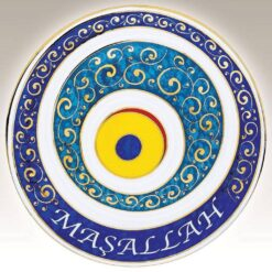 Decorative Porcelain Handmade Evil Eye