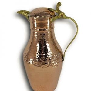 Hand Hammered Copper Jug Full Hand Made