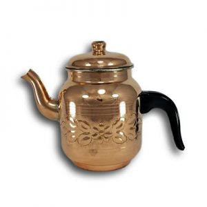 Handmade Copper Vintage Design Turkish Tea Pot