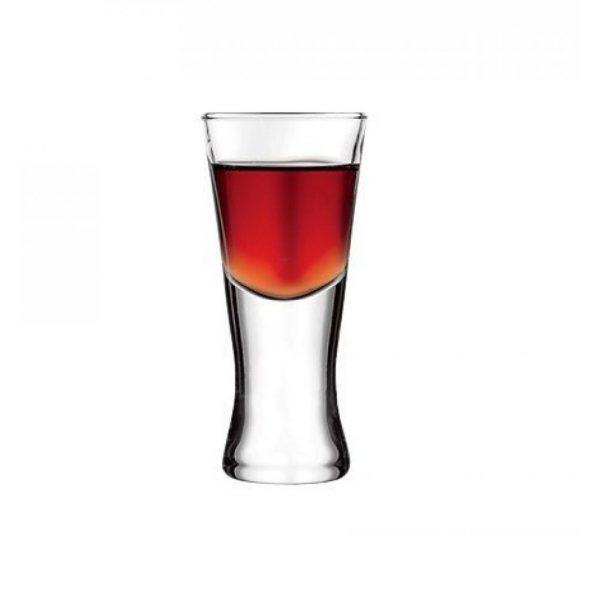 Pasabahce Tall Shot Glasses Set For Six