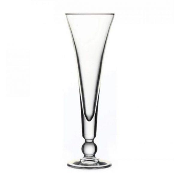 Pasabahce Flute Model Wine Glasses Set Six Pieces