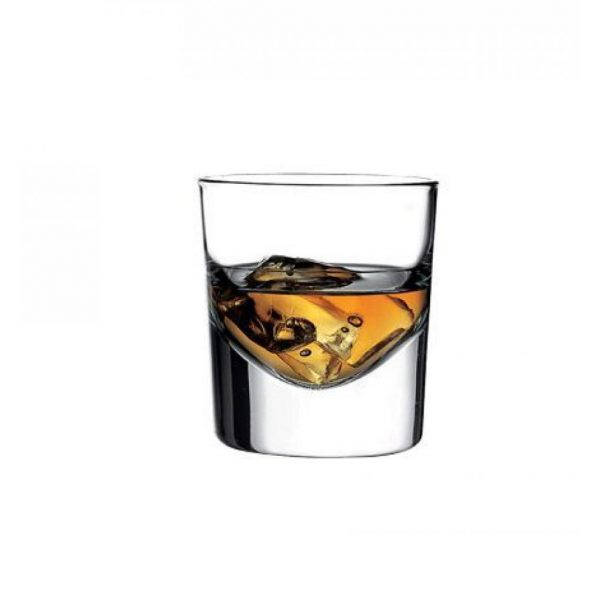 Thick Bottom Pasabahce Whiskey Glasses Set For Three