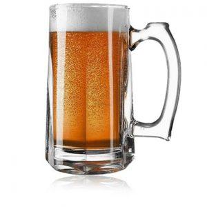 Pasabahce Pub Style Beer Mug Set For Two