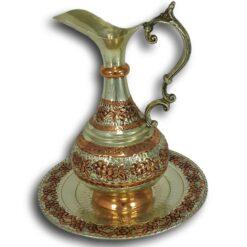 Copper Turkish Ibrik Full Handmade