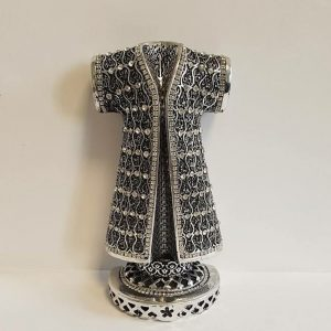Silver Color Caftan Design  Asma ul Husna Islamic Gift Sculptures