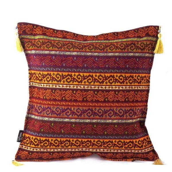 2x Authentic Design Handmade Vintage Turkish Pillow Case
