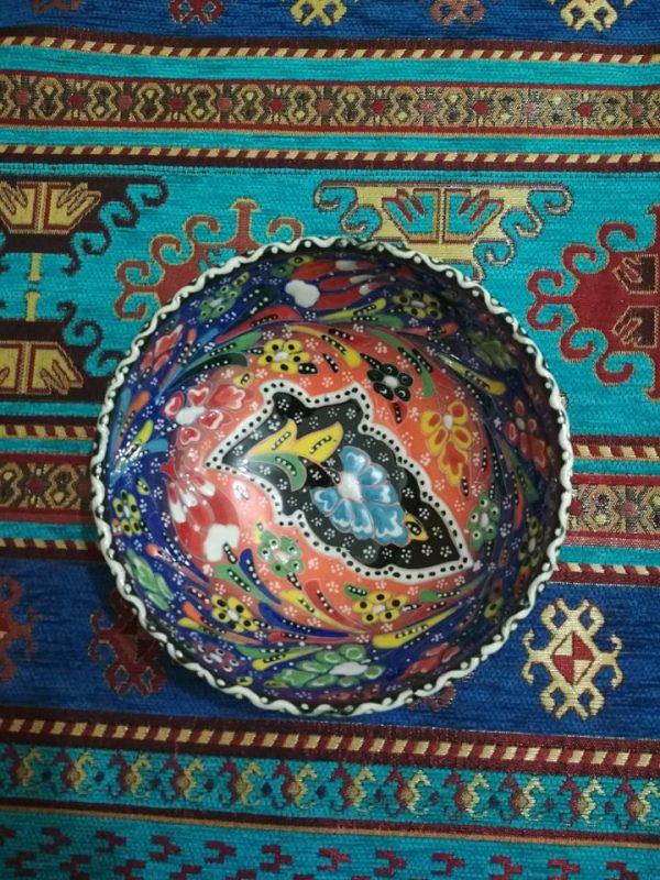 Hand Painted Turkish Ceramic Bowl