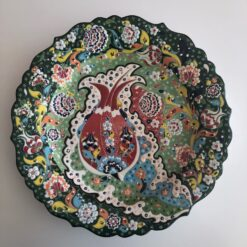 Large Turkish Ceramic Handmade Decorative Plate