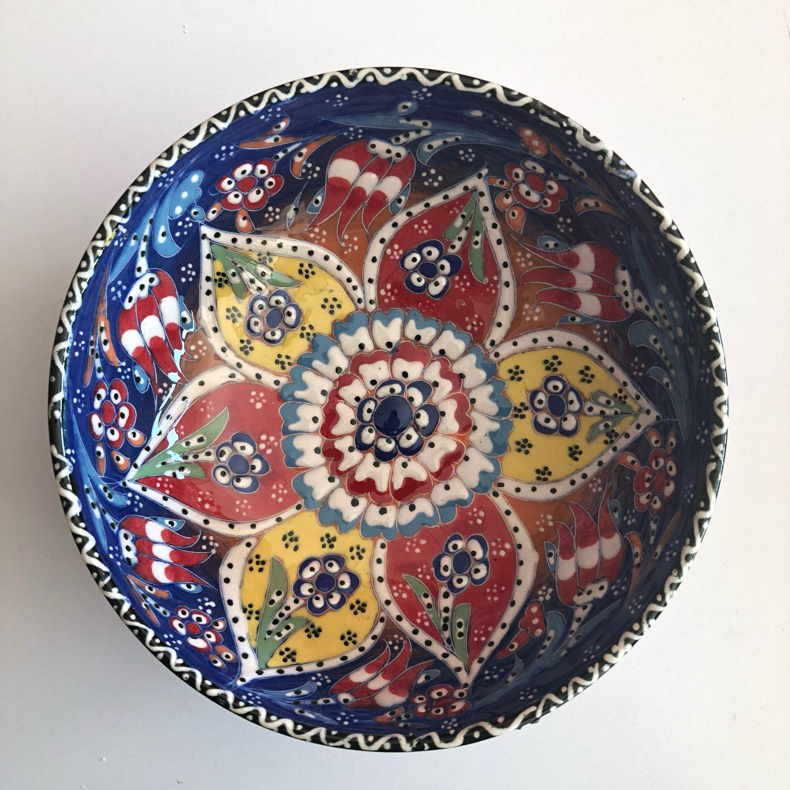 Hand Painted Bowls From Turkey