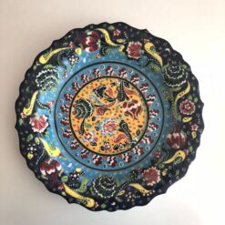Large Ceramic Handmade Turkish Plate