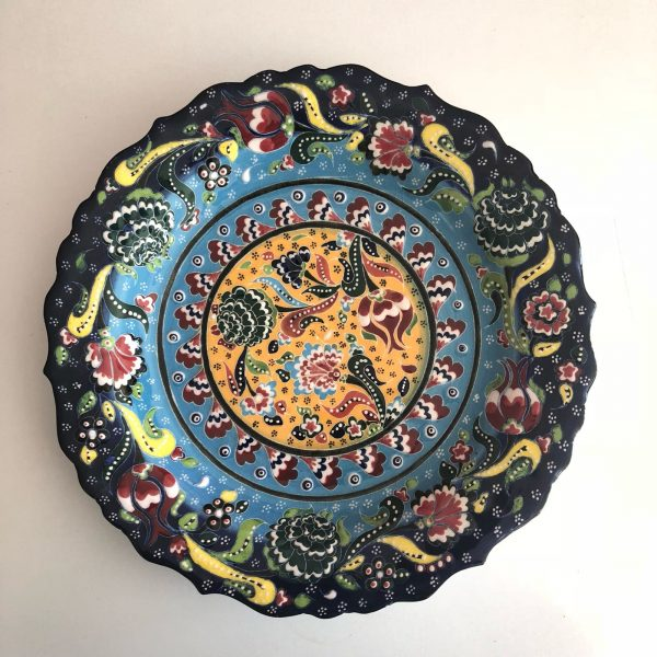 Large Ceramic Handmade Turkish Plate