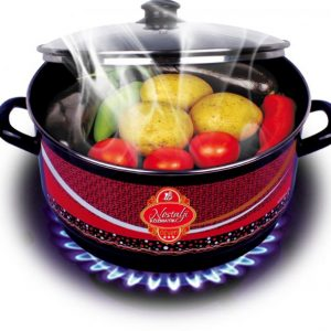 Enamel Turkish Grill Pot For Gas Stoves