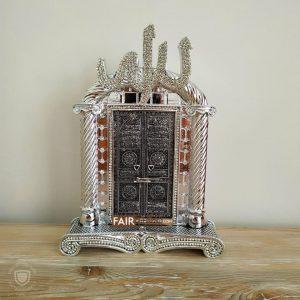 Kaaba's Door Design Islamic Gift In SilverColor