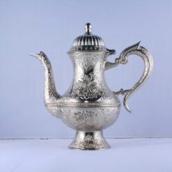 High Zinc Casting Tea - Coffee Pot Silver Color