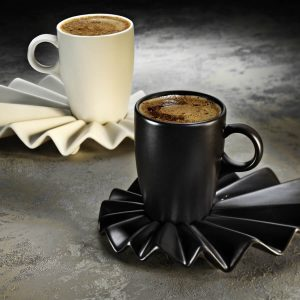 2019 Collection Kutahya Porcelain Adora Coffee Set For Two Person