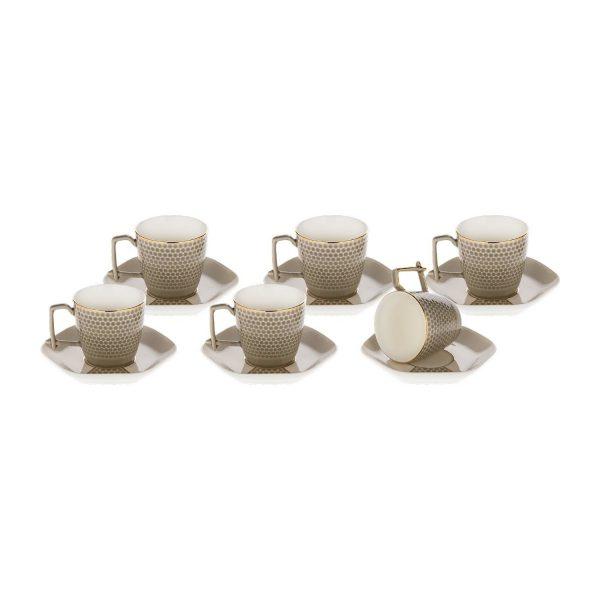 Doreline Bien Porcelain Coffee Set For Six