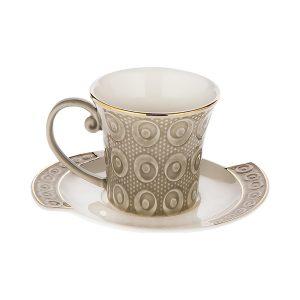 Doreline Corazon Porcelain Coffee - Tea Set For Six