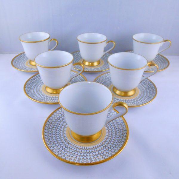 Bohemia Crystal Beylerbeyi Medium Size Coffee Set