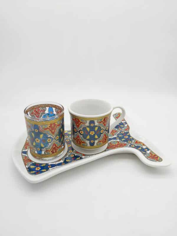 Sehzade Caftan Design Coffee Set For One Person