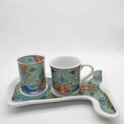Sultan Caftan Design Coffee Set For One Person