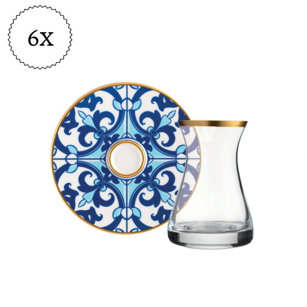 Quadro Original Crystal Luxury Tea Set