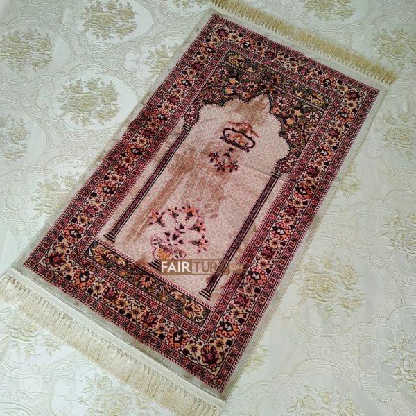Vintage Design Digital Weaving Luxury Prayer Rug