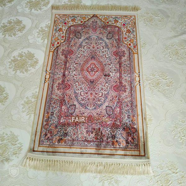 Ethnic Ottoman Design Digital Weaving Luxury Prayer Rug