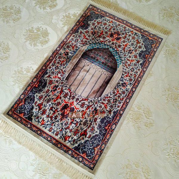 Ethnic Design Digital Weaving Luxury Prayer Rug