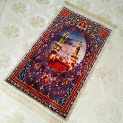 Rawda al-Mutahhara,Medina, Design Digital Weaving Luxury Prayer Rug