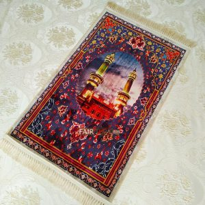Rawda al-Mutahhara,Medina, Design Digital Weaving Luxury Prayer Rug
