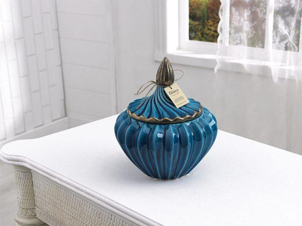 Sultan Green Color Large Size Handmade Ceramic Bowl