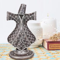 Whirling Dervish Design Islamic Gift In Silver Color