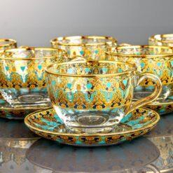 Humeyra Large Coffee Mugs-Tea Glasses