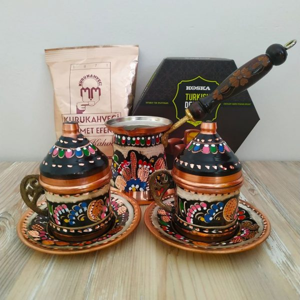 Handcrafted Turkish Gift Box With Pistachio Turkish Delight