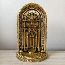 Gold Color Mihrab Islamic Gift Decor