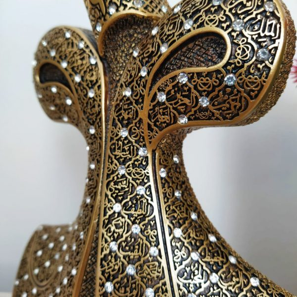 Whirling Dervish VAV Design Islamic Gift In Gold Color