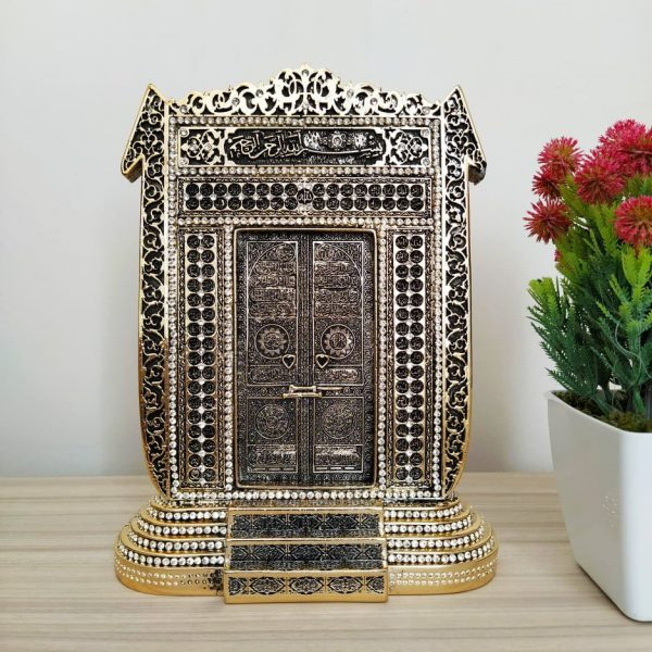 Gold Color New Kaaba's Door Design Islamic Decor