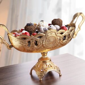 X-Large Gold Color Chocolate Snack Bowl