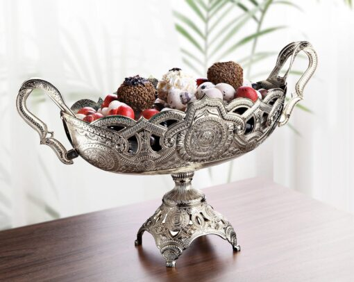X-Large Silver Color Chocolate Snack Bowl